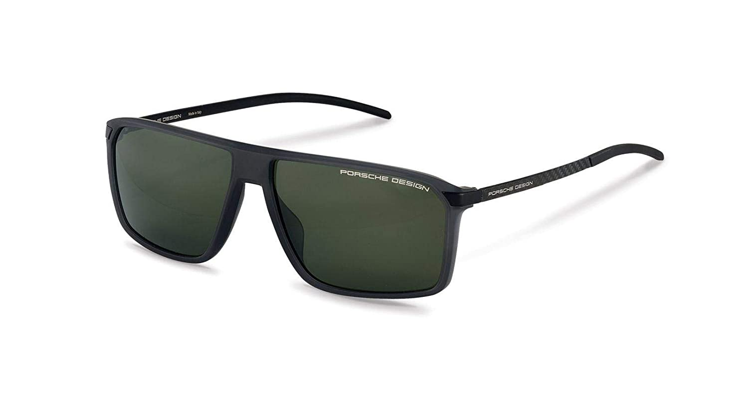 Authentic Porsche Design P 8653 B Grey Polarized Sunglasses
