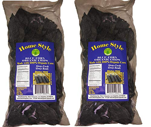 Home Style Corn Chips with 100% Organic Blue Corn 2 ()