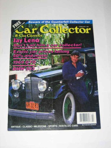 Car Collector Magazine February 1991 1969 GTO BMW 503