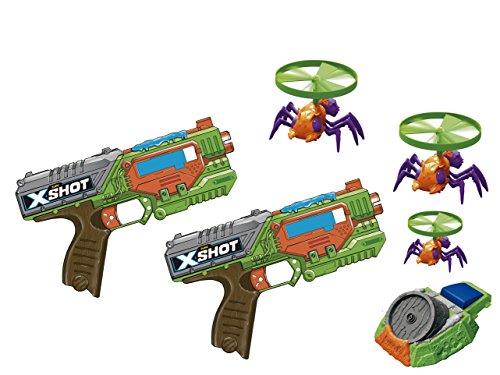 X Shot Swarm Sekeer, Launcher e Flying Bugs Candide
