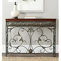 Safavieh American Homes Collection Cynthia Brown Console Table