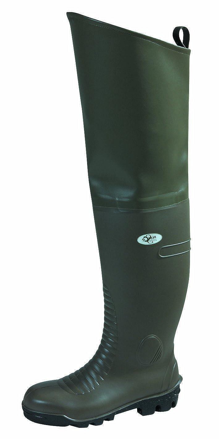 Netco, Damen Sicherheitsschuhe Grün Khaki 37