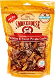 Smokehouse Chicken & Sweet Potato Dog Treats, 16 Ounce, 12 Pack For Sale