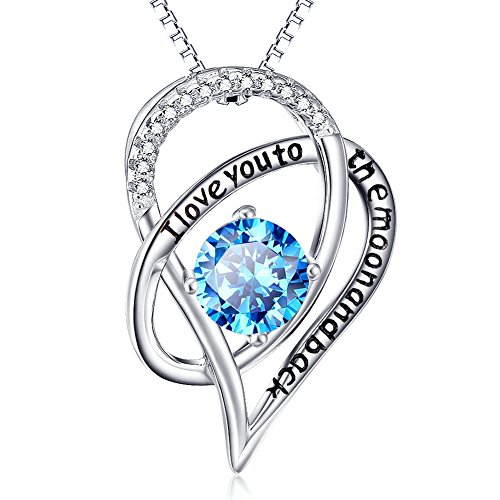 Sterling Interlocking Pendant Necklace Perfect product image