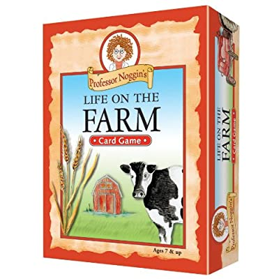 Educational Trivia Card Game - Professor Noggin's Life on the Farm: Toys & Games