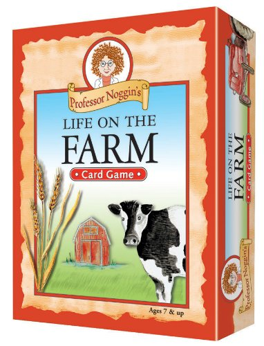 Educational Trivia Card Game - Professor Noggin's Life on the Farm ()