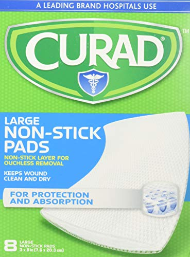 Non Stick Pad 8in X 3in - 8 ct. (4 Boxes) ()