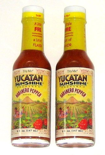 yucatan habanero sauce - 2