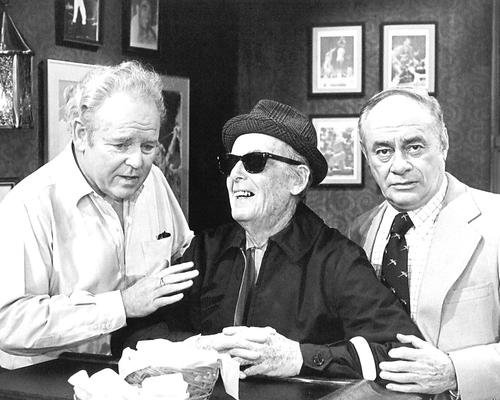 Archie Bunker's Place Carroll O'Connor Bill Quinn Martin Balsam 16x20 Poster in Archie's bar