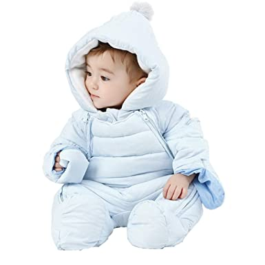 b07d73da8 Fairy Baby Toddler Boys Girls Winter Thick Outwear Jumpsuit Warm Snowsuit  Hooded Size 6-9M