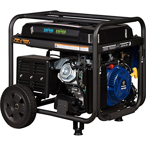 Westinghouse WGen7500DF Dual Fuel Portable Generator - 7500 Rated Watts & 9500 Peak Watts - Gas or Propane Powered - CARB Compliant by Westinghouse (Image #3)