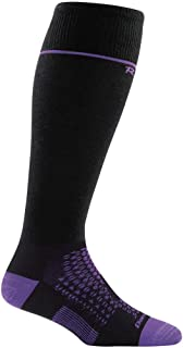 product image for Darn Tough RFL Over The Calf Ultra-Light Sock - Women's Black Small