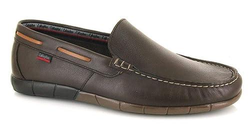 Callaghan, 11803, Copete marrón de Hombre, Talla 44: Amazon.es: Zapatos y complementos
