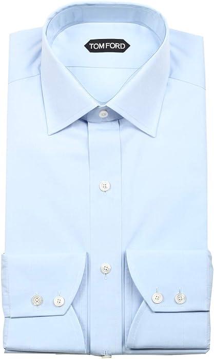 4da20874a530 CL - Tom Ford Solid Blue Dress Shirt Size 40/15,75 U.S. Slim Fit ...