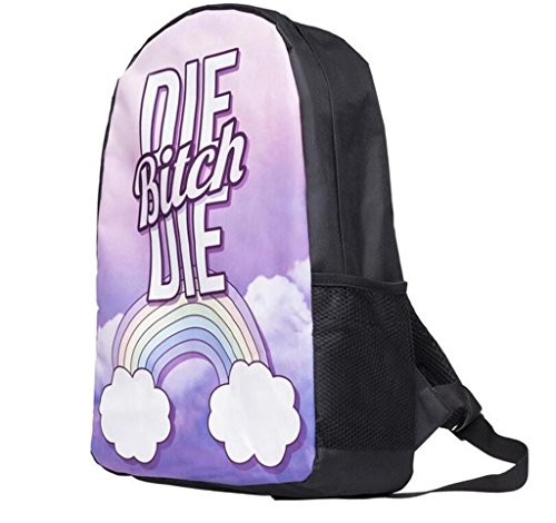SHFANG Double Schulter Rucksack Student Schultasche Gehen Sie auf eine Reise Permeability School Tägliche Kinder Taschen 44 * 14cm
