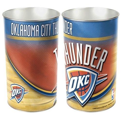 Oklahoma City Thunder 15'' Waste Basket