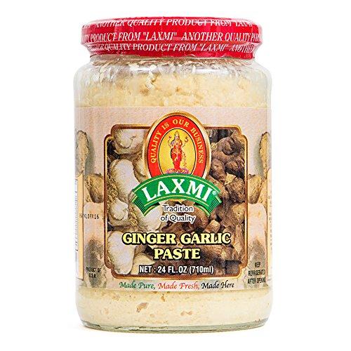 Laxmi Traditional Indian Ginger Garlic Cooking Paste - 24oz