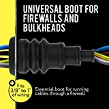 Universal Firewall Boot Pack of 2, For Wire Bundles