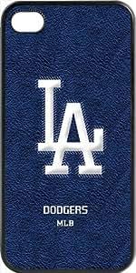 MLB Team Logo, Los Angeles Dodgers Team Logo Case For Samsung Galaxy S5 Cover (Blac1