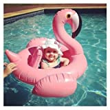 Baby Float, Flamingo Inflatable Pool Float Baby Swim Ride-on Float Swimming Pool Toys The Age 8-48 Months Learn Swimming Baby Infants