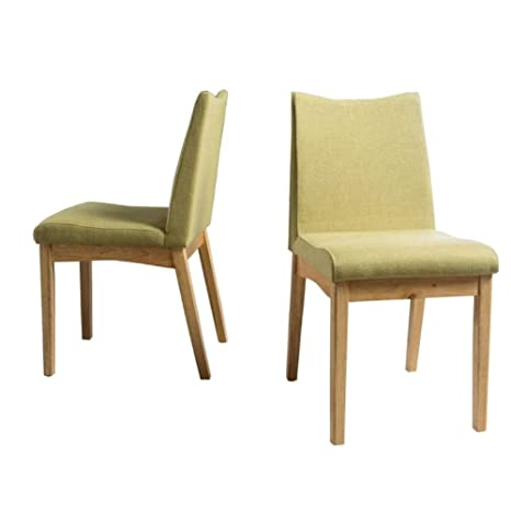 Surprising Amazon Com Cane Dining Chairs Set Of Two 60S Green Tea Ncnpc Chair Design For Home Ncnpcorg