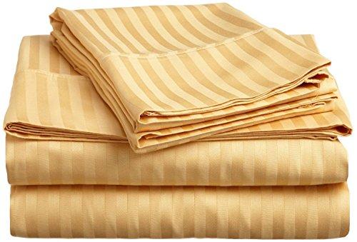 - { 4PCs } Comfort New Stripes Colors { Gold - 22
