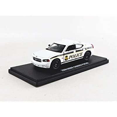 Greenlight 86171 1: 43 2006 Dodge Charger - United States Secret Service Police: Toys & Games