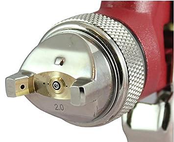 HP Lackierpistole Sprü hpistole HVLP Spritzpistole fü r Autolack (Dü sengrö ß e: 2, 0mm) Benbow