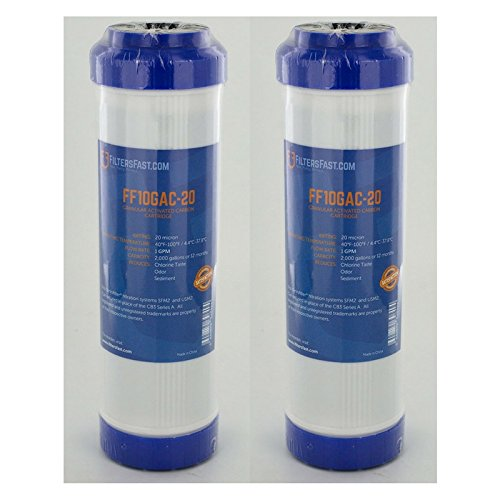 FiltersFast Compatible Replacement for Pentek GAC-10 Carbon