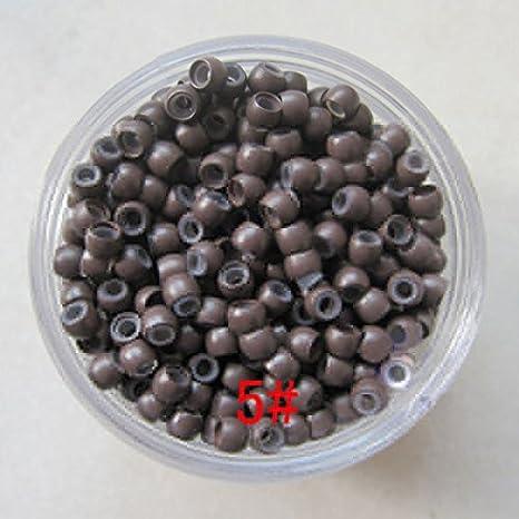 Perlas de silicona por 1000unidades, para puntas de pelo. Oferta (n.° 3)