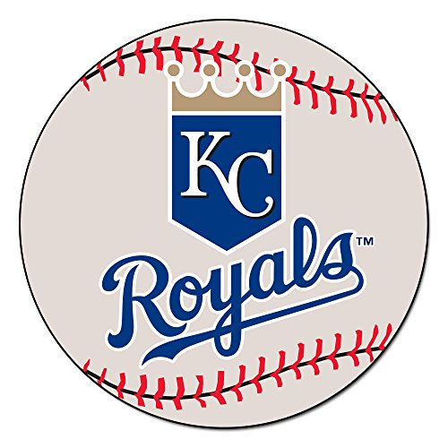Fanmats MLB Kansas City Royals Nylon Face Baseball (Kansas City Royals Baseball Rug)