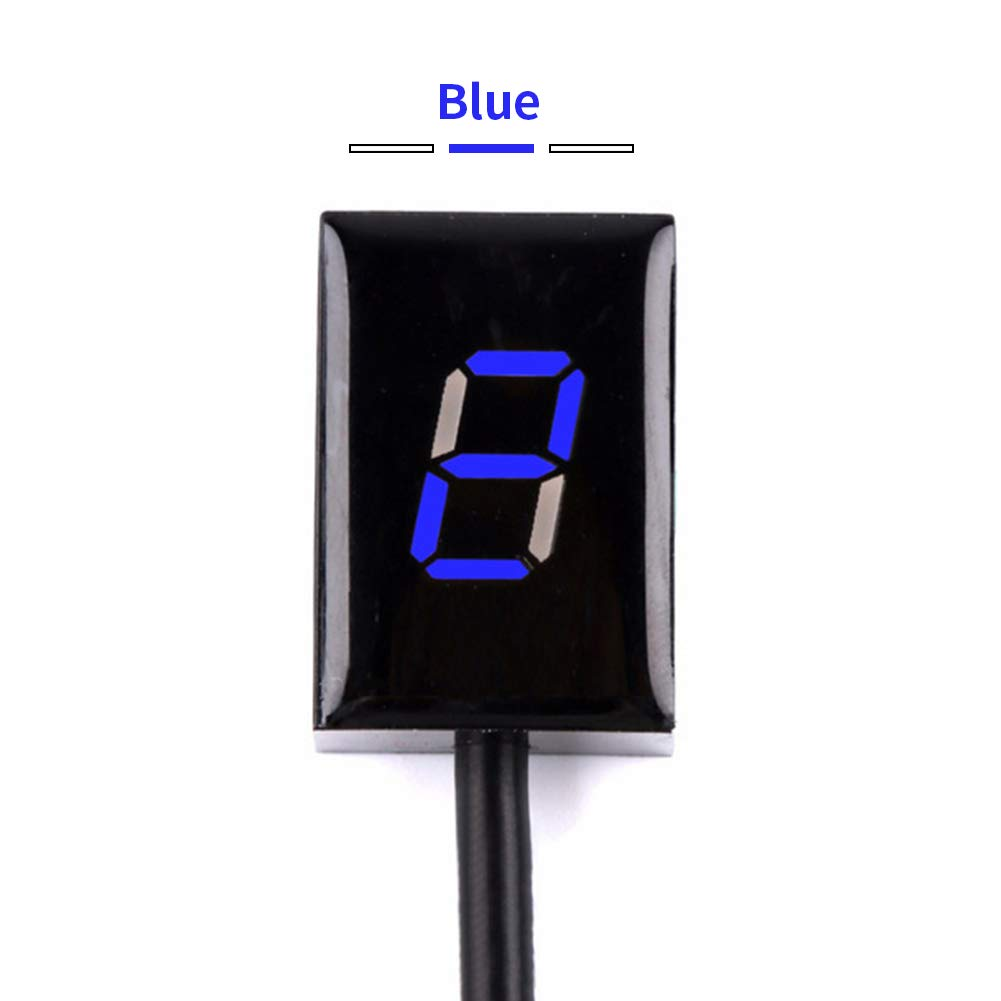 CAUORMOTE LED Digital Motorcycle Gear Indicator Speedometer Shift Lever Accessories Fits for Kawasaki by CAUORMOTE