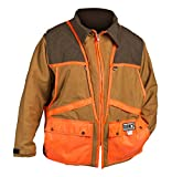 Dan's Upland Game Coat, Front Loading Game Pouch, Made in U.S.A. (XLarge)