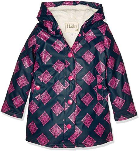Hatley Girls Sherpa Splash Jacket