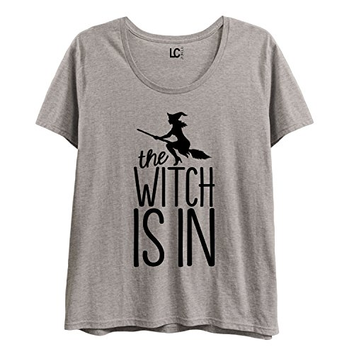 The Witch is in -Ladies Plus Size Scoop