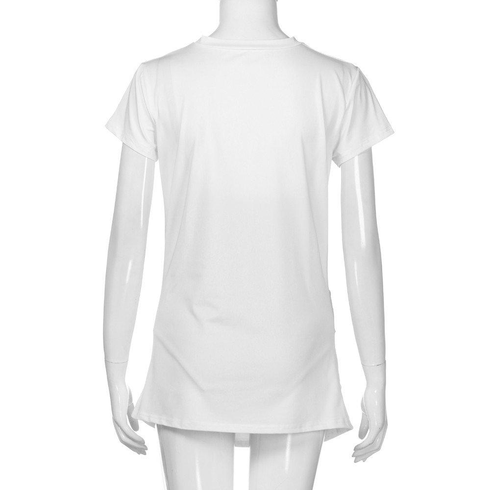 Amazon.com: G-Real Camiseta de maternidad para embarazada ...