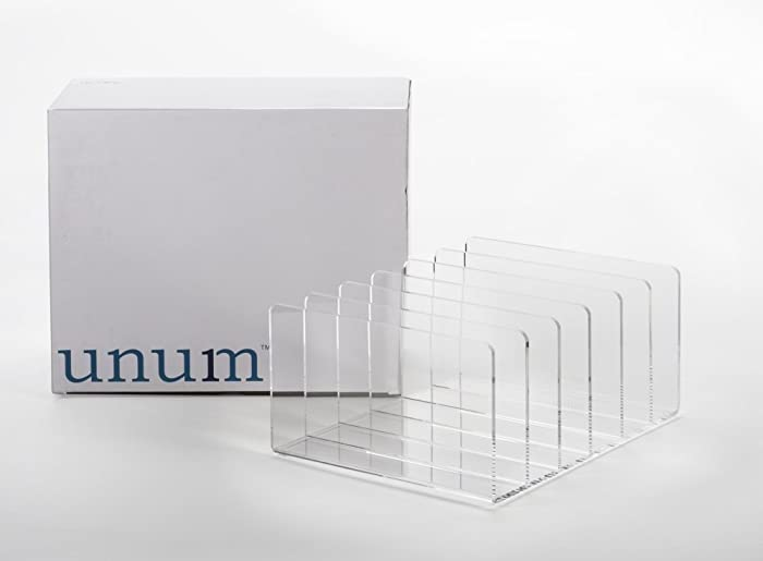 Top 9 Clear Acrylic Desktop File Organizer