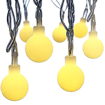 String Lights CFTech 2M 20 LED Fairy Lights Battery Operated Waterproof Starry light for Halloween Garden Home Party Indoor and Outdoor Celebration Lighting, Warm White