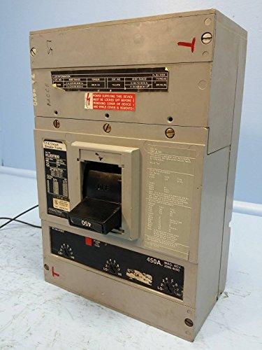 I-T-E Siemens HL63F600 600 Amp Circuit Breaker 450 A Trip 600V Shunt HL6 ITE