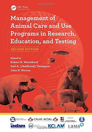 Κάλυψη βιβλίων Management of Animal Care and Use Programs in Research, Education, and Testing, Second Edition