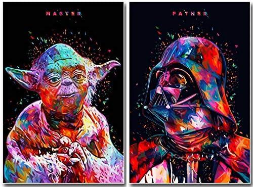 Star Wars Yoda 5D Diy Diamond Painting