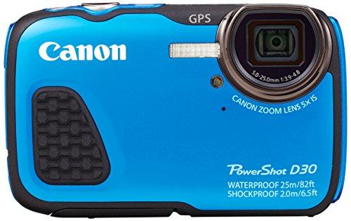 Canon PowerShot D30 Waterproof Digital Camera - International Version (No Warranty)