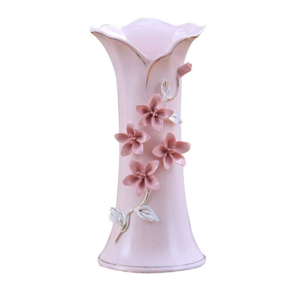 Amazon.com: Jarrón de cerámica simple y moderna apto para ...