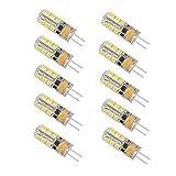 Minger G4 LED Light Bulb,2.5W AC/DC 12V 24 LED Bulb of 180lumens SMD 2385 LED Equivalent of 20W Halogen Lamp (10-Pack)