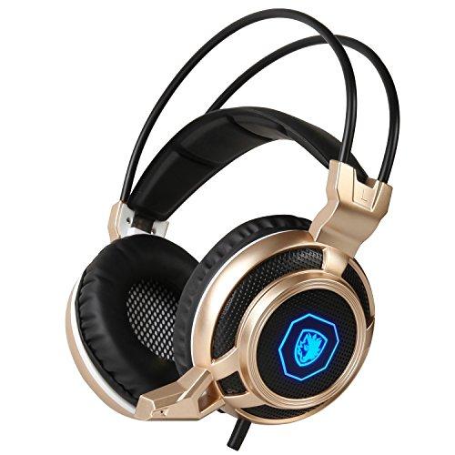 Gaming Headset Cellphone Backlit Headphones