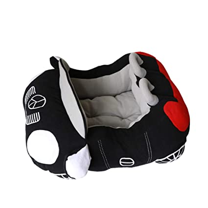 elvnx - Cama para Mascotas con Forma de Coche para Perro, para Deportes, casa