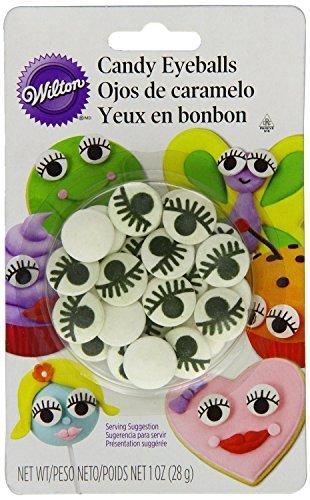 Wilton Candy Eyeballs with Eyelash