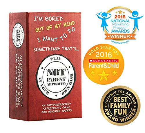 Not Parent Approved: A Card Game for Kids, Families and Mischief - Summer Top Beers