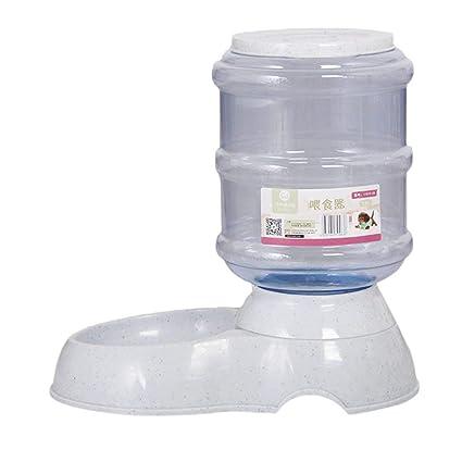 SeniorMar Alimentador automático del alimento del alimentador del Agua del dispensador para los Perros y los