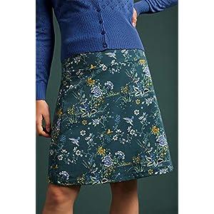 King Louie Griffin Women's A-line Skirt Border Skirt